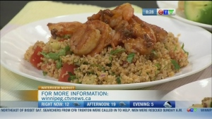 Chef Lynn makes quinoa salad