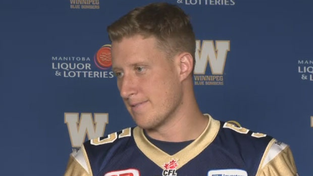 Resilient Blue Bombers quarterback Willy ready to go against Lions