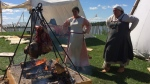 The free event also offers woodworking, leather crafting and other provides an opportunity for people to learn about traditional Icelandic culture. (File image)