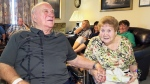 Edgar and Theresa MacPhee are seen at Theresa's nursing home in New Glasgow, N.S., on Tuesday, Aug. 4, 2015.