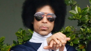 The late artist Prince is seen in this file photo. (Patrick Kovarik / AFP)