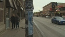 Winnipeg's Biz zone groups said the postering is ugly and gives neighbourhoods a perception of neglect. (File)
