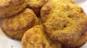 Now You're Cooking: Pumpkin biscuits