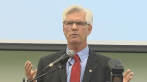 """""""We're not going to make everybody happy,"""" Natural Resources Minister Jim Carr said Friday to the Canadian Climate Forum, packed with green technology advocates, environmental economists, NGOs and climate scientists. (File Image)"""