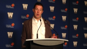 Kyle Walters, the Winnipeg Blue Bombers' general manager spoke to media Friday morning.