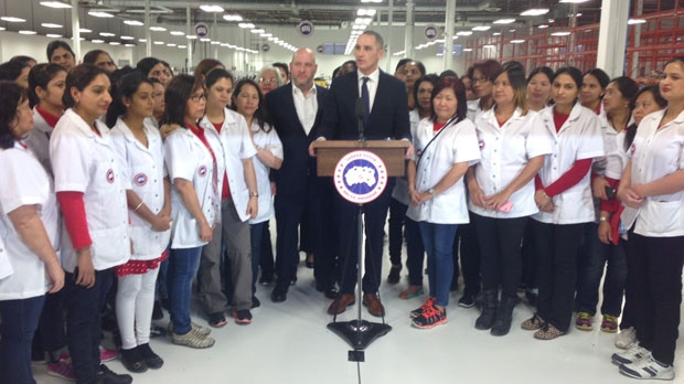 Canada Goose down replica 2016 - Canada Goose plans to grow manufacturing presence in Winnipeg ...