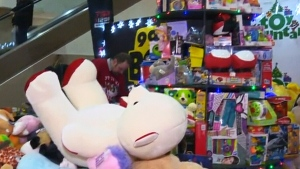 Salvation Army needs 2,000 more toys this year in order to make sure kids have a present to unwrap on Christmas Day. (File image)