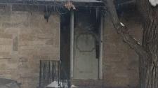 Stony Mountain house fire