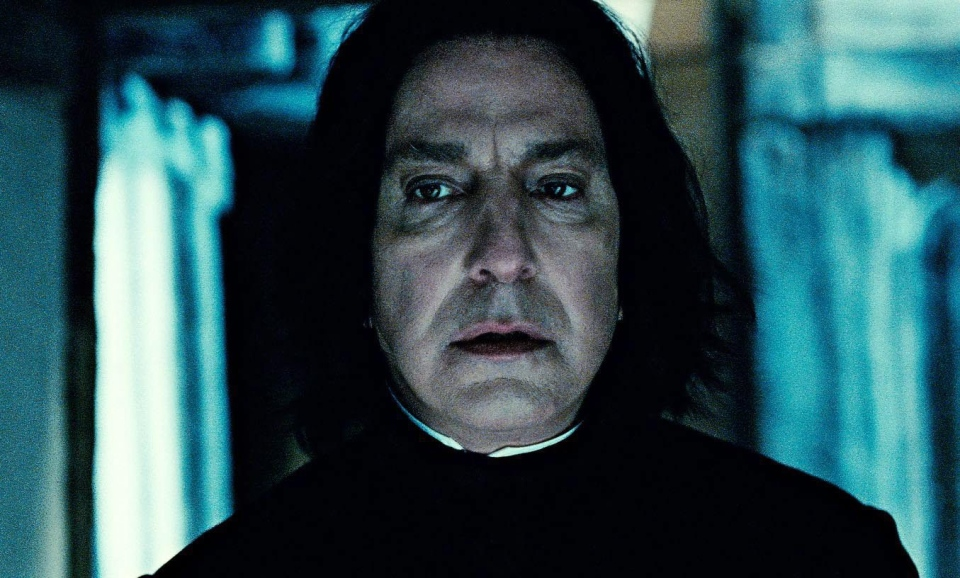 Rickman was well-known for his role as the character 'Severus Snape' in the Harry Potter series.