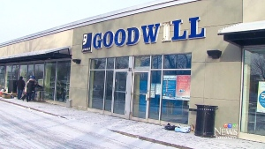 Goodwill has closed 26 stores and donation centres in Ontario, citing a 'cash flow crises' for the closures.