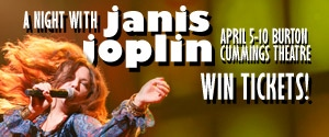 A Night with Janis Joplin Contest rotator