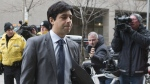 Jian Ghomeshi arrives at a Toronto court on Friday, Feb. 5, 2016. (Chris Young / THE CANADIAN PRESS)