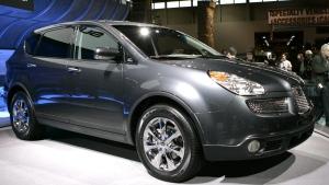 The 2007 Subaru SUV B9 Tribeca (limited edition) in Chicago on Feb. 9, 2006. (Nam Y. Huh / AP)