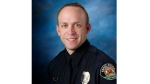 Police officer Jason Moszer was shot during a standoff outside a home in north Fargo.