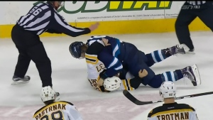 Jets fall to Bruins 6-2