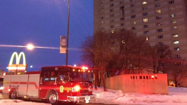Marion Street fire