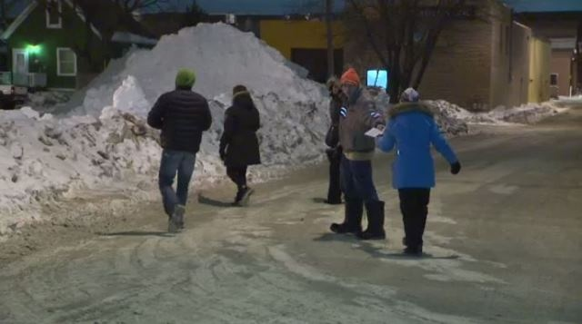 Volunteers scoured downtown streets looking for missing teen Cooper Nemeth on Wednesday night.
