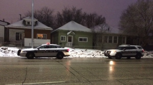 Police responded to report of shots fired in the 1800 block of Logan Avenue around 5:30 a.m. Monday.