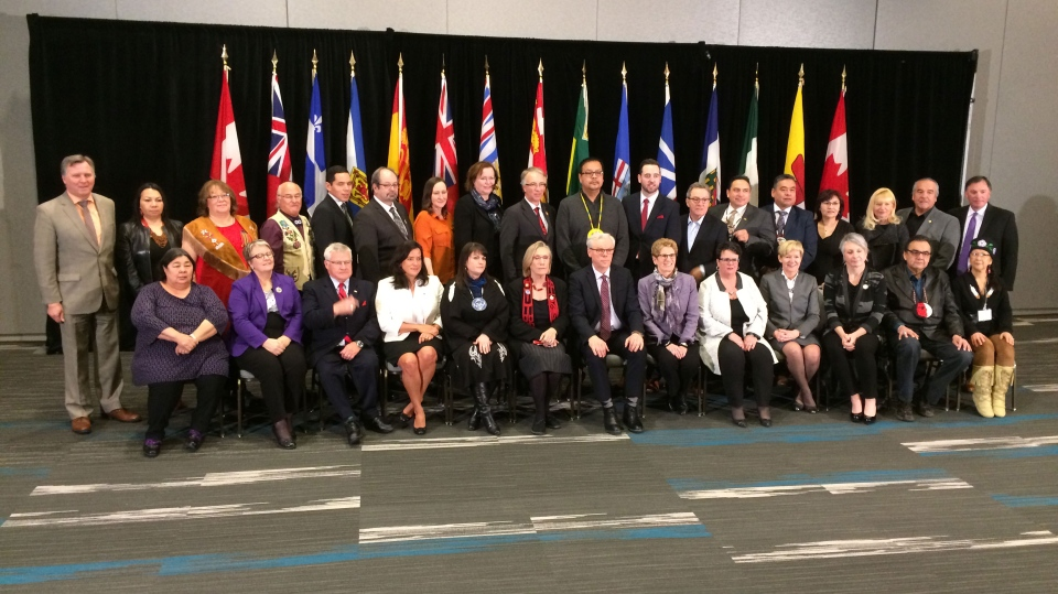 On Friday, Canada's premiers, territorial and aboriginal leaders pledged indigenous women and girls would not have to wait for change.