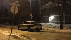 Police have identified a man who died after he was found injured in the 100 block of Allenby Crescent on Tuesday.