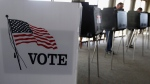 Voters cast their ballots in the Illinois primary in Hinsdale, Ill., on March 18, 2014. (M. Spencer Green / AP)