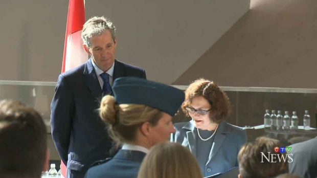 Pallister and his newly appointed cabinet took their oaths at a ceremony Tuesday morning.