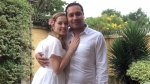 Megan Radford and Rolando Barrientos are shown in a handout photo from their wedding day. (HO / THE CANADIAN PRESS)