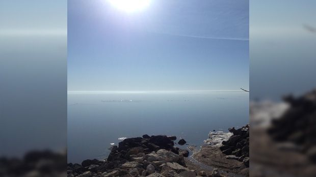 Lake Winnipeg. Photo by Ryan Ostertag.