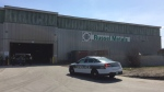 Emergency crews responded to a fatal workplace incident at Russel Metals on Thursday, May 5, 2016.