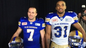 The club unveiled its new uniforms Thursday, with wide receiver Weston Dressler and defensive back Maurice Leggett modeling the threads.