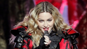In this Feb. 20, 2016 file photo, Madonna performs during the Rebel Heart World Tour in Macau. (AP / Kin Cheung, File)
