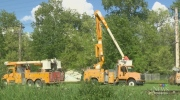 Manitoba Hydro are working to restore power to hom