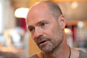 Gord Downie in an interview with The Canadian Press in Toronto on Friday June 4, 2010.  THE CANADIAN PRESS/Frank Gunn