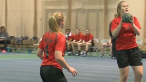 Manitoba women's junior handball team