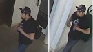Police released these photos of the suspect. (Source: Winnipeg Police Service)