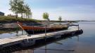 Beautiful Sunny Cross Lake Morning. Photo by Gerald Krosney.