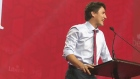 Trudeau rallies party faithful in Winnipeg