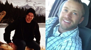 Cody Galbraith (left), 25, died after a crash on Corydon Avenue on May 29, 2016. Jordan Allarie, 25, remains in critical condition. (Source: Facebook)
