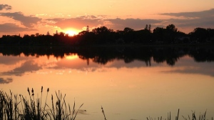 A beautiful ending to a beautiful Manitoba weekend. Photo by Cathie Dick.