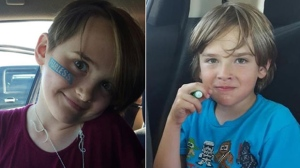 Police said Josh and Montana Giesbrecht, aged nine and 11 respectively, were found along with their mother Sandra Giesbrecht, police announced Friday evening. (File image)