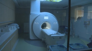 Construction at Grace Hospital's new MRI suite has finished and staff threw an opening celebration on Thursday.