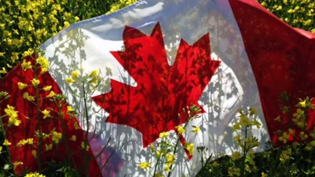 Celebrating Canada Day in Starbuck, MB. Photo by Tammy Shirtliff.