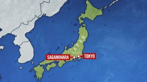 The Kyodo news agency is reporting that 19 people are dead and 20 injured following a knife attack in Sagamihara, outside Tokyo.