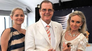 Sir Roger Moore shared this photo with his stepdaughter, 47-year-old Christina Knudsen, following her death. (roger-moore.com)