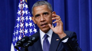 U.S. President Barack Obama at the White House complex in Washington, on July 22, 2016. (Pablo Martinez Monsivais / AP)