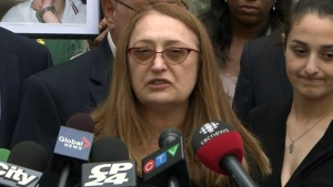 Sammy Yatim's mother