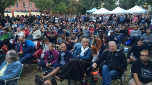 Fans at Old Market Square in Winnipeg and around the world gathered to watch the Tragically Hip's historic Kingston concert.
