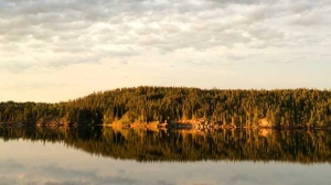 Beautiful morning out in Gods Lake Narrows. Photo by Gary Burton-Trout.