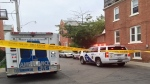 Toronto police arrived at the scene in the Riverdale neighbourhood after numerous reports of gunshots in the area on the evening of Aug. 27, 2016. A woman in her 60s was later pronounced dead.