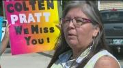 Colten Pratt family joins Portage Pride March